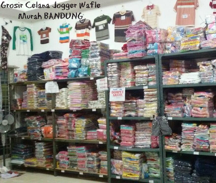 Pusat Grosir Celana Joger Wafle Murah