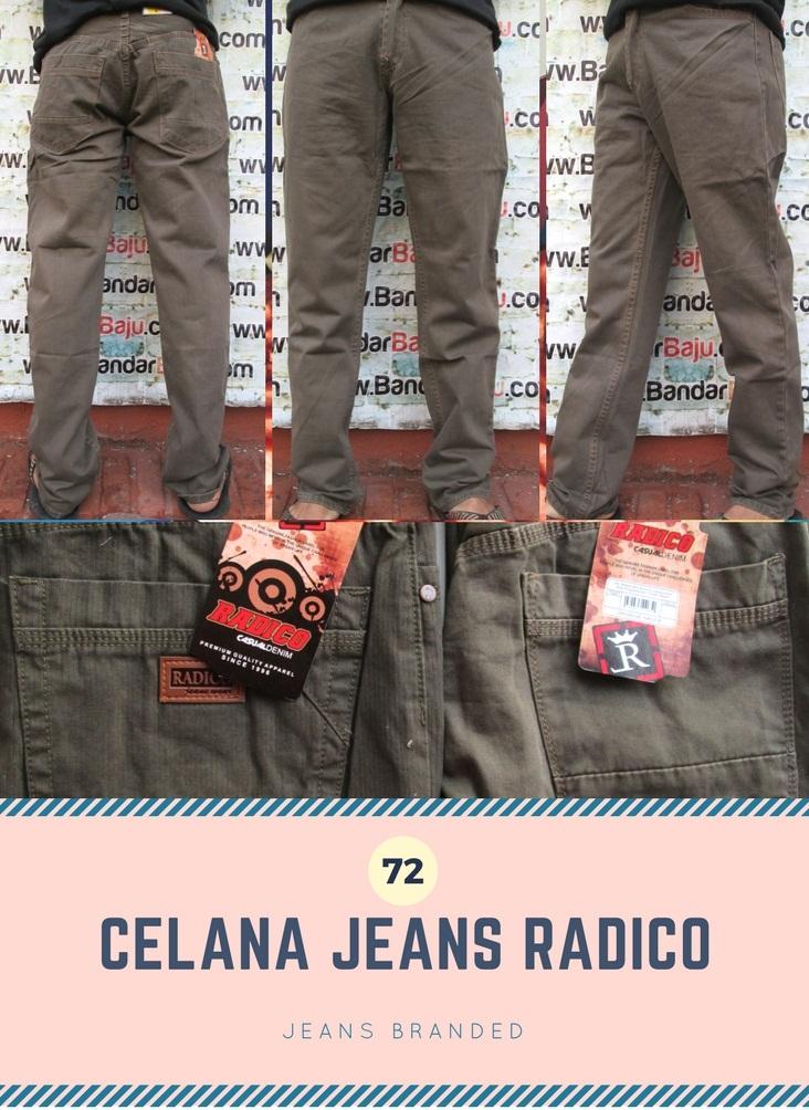 Distributor Jeans Radico Pria Dewasa Murah Bandung