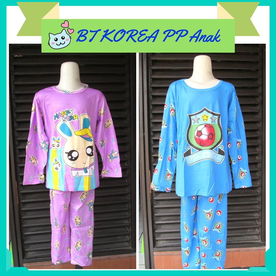 Grosir Baju Tidur Korea Anak Panjang Panjang Murah