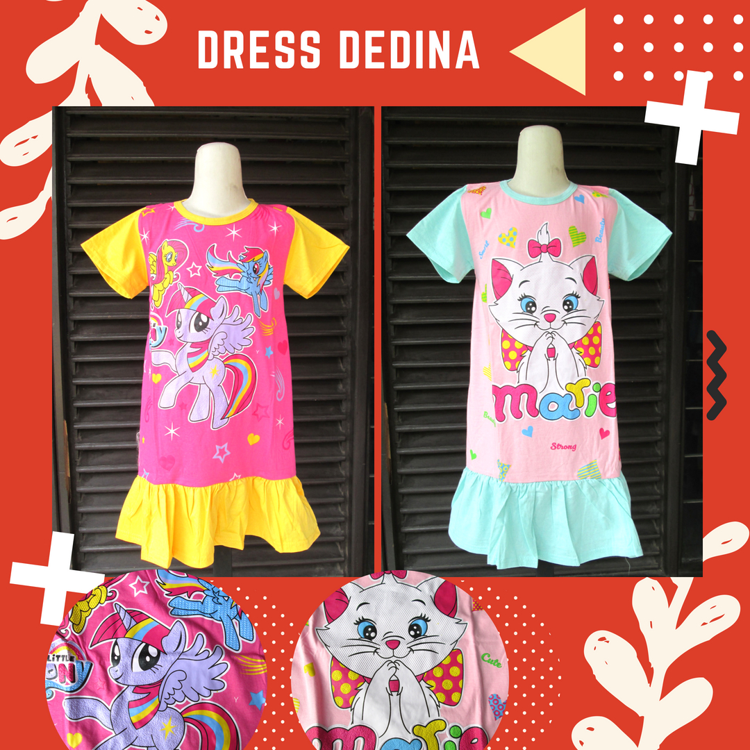 Supplier Dress Dedina Anak Murah Bandung