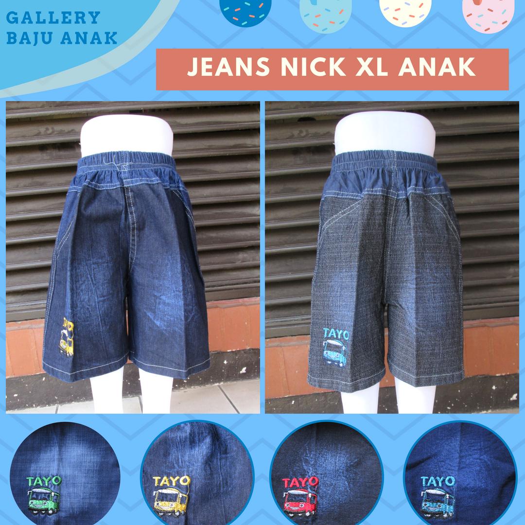 Produsen Celana Jeans Nick XL Anak Laki Laki Murah di Bandung