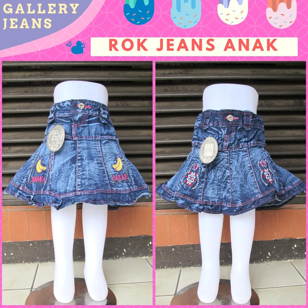 Supplier Rok Jeans Anak Perempuan Murah di Bandung