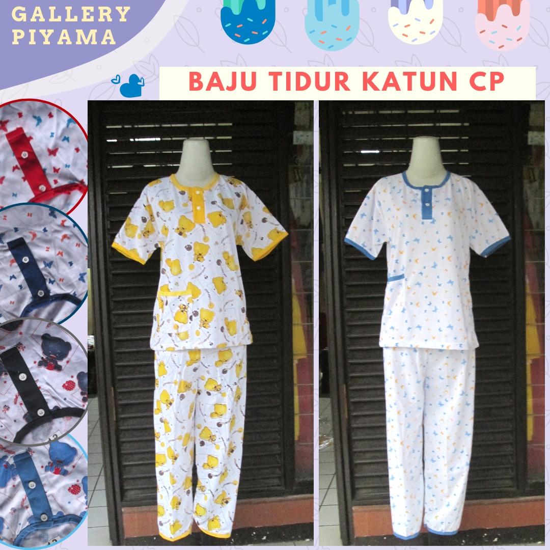 Distributor Baju Tidur Katun Celana Panjang Murah di Bandung