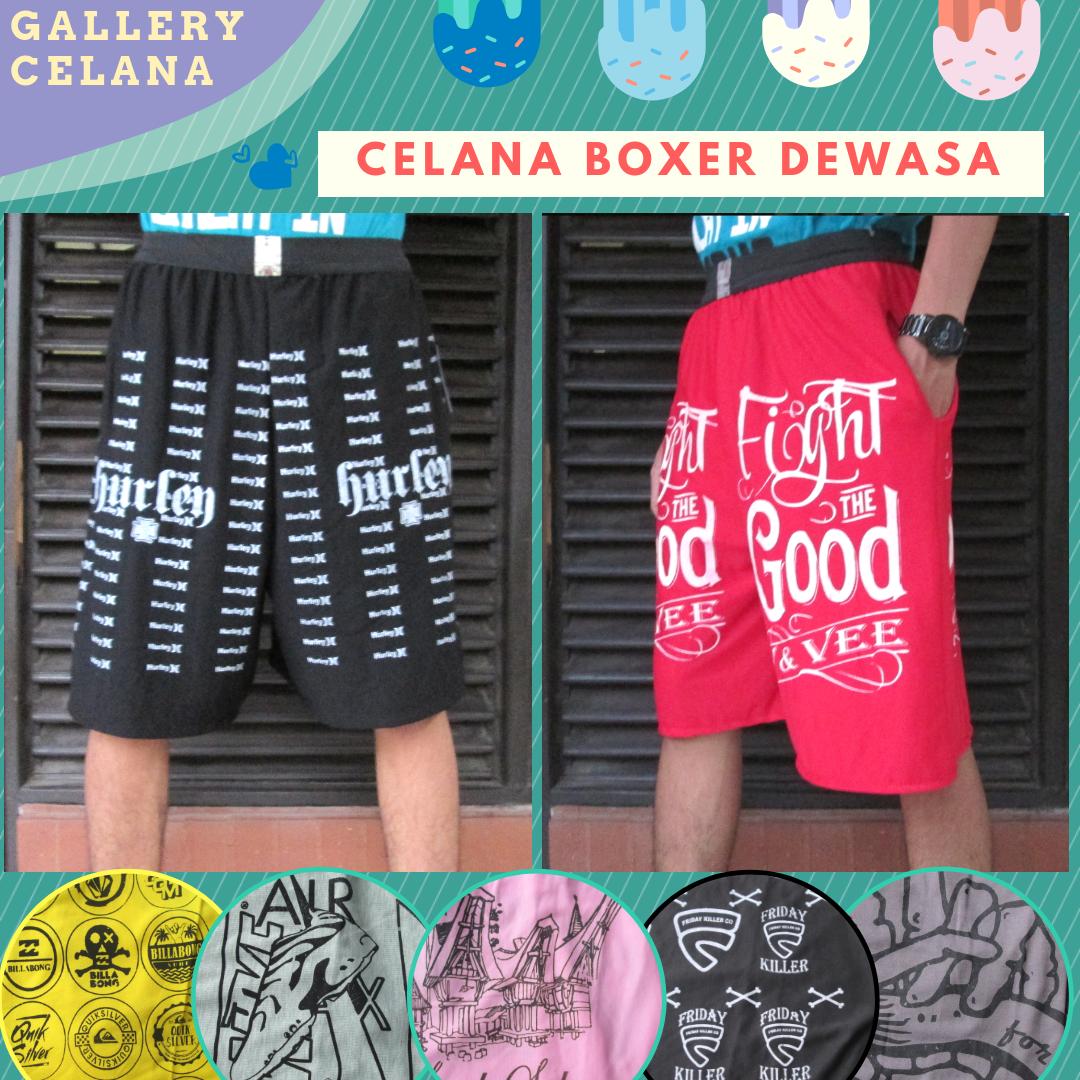 Pabrik Celana Boxer Dewasa Termurah di Bandung