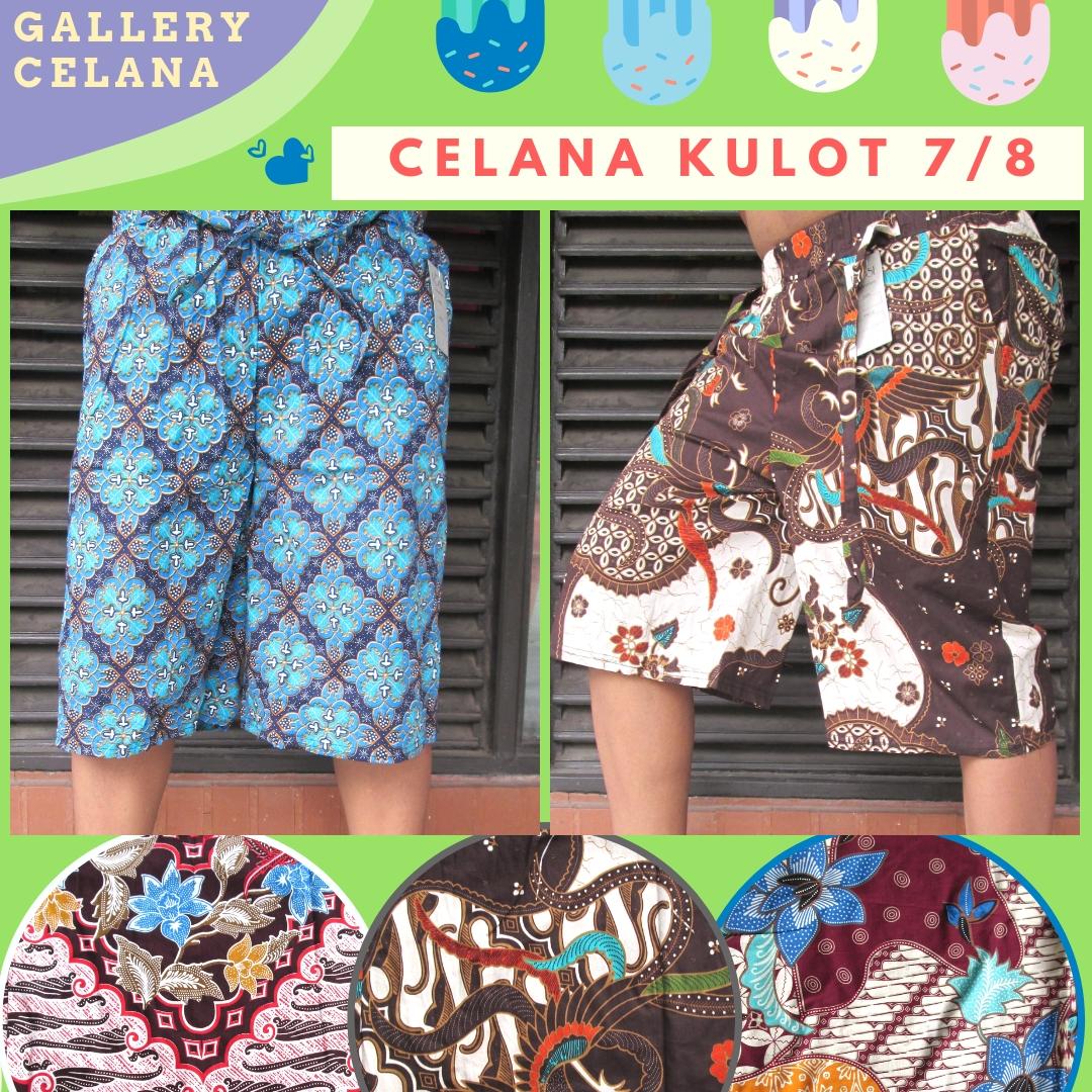 Supplier Celana Kulot Motif 7/8 Dewasa Murah di Bandung