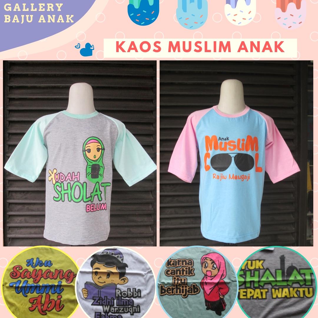 Distributor Kaos Muslim Anak Murah diBandung