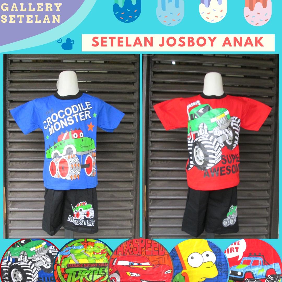 Distributor Setelan Josboy Anak Laki Laki Murah di Bandung