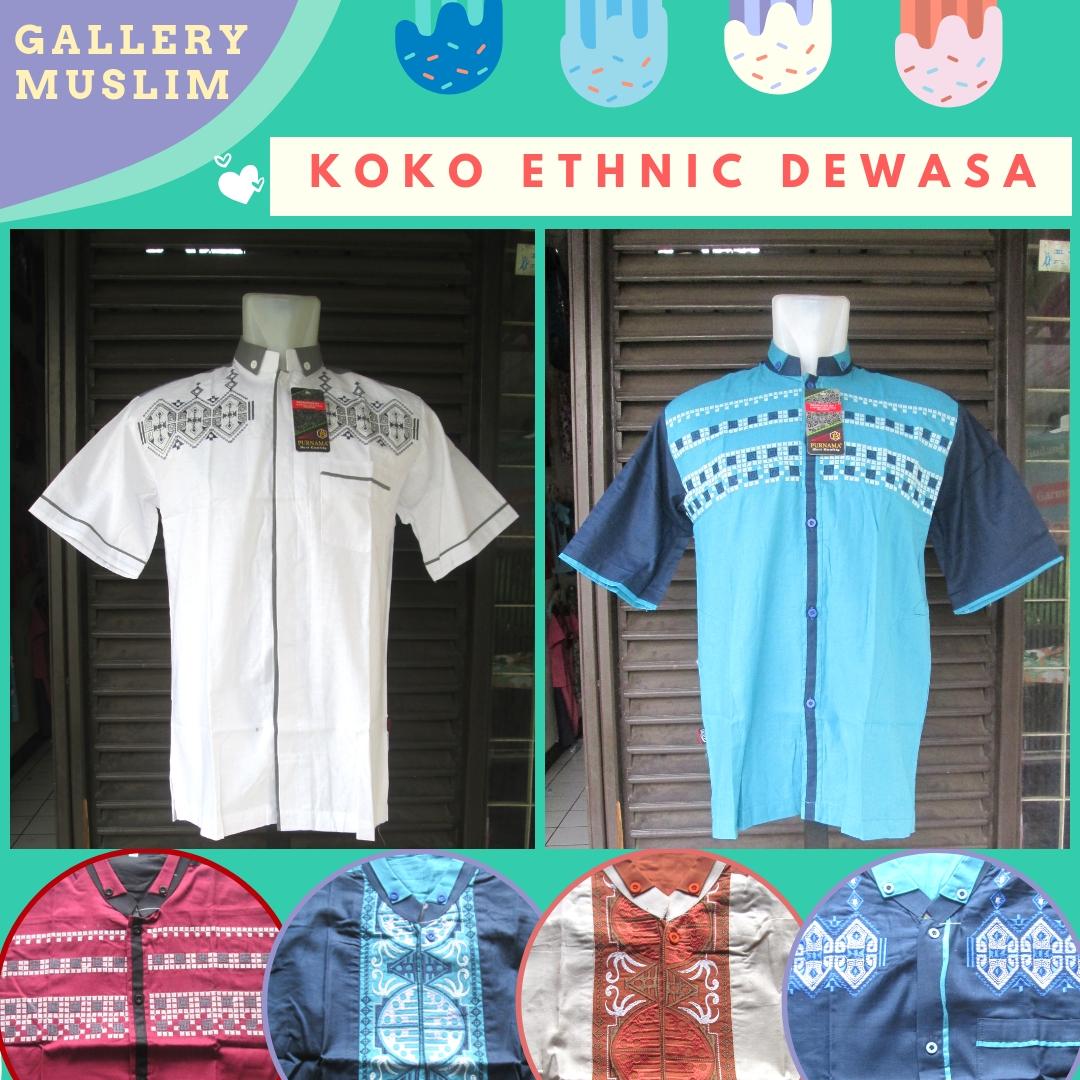 Distributor Baju Koko Etnik Pria Dewasa Murah Di Bandung