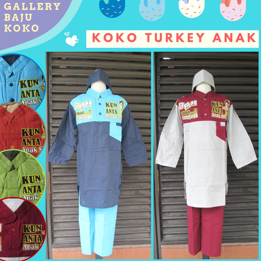 Grosiran Baju Koko Turkey Anak Laki Laki Murah di Bandung