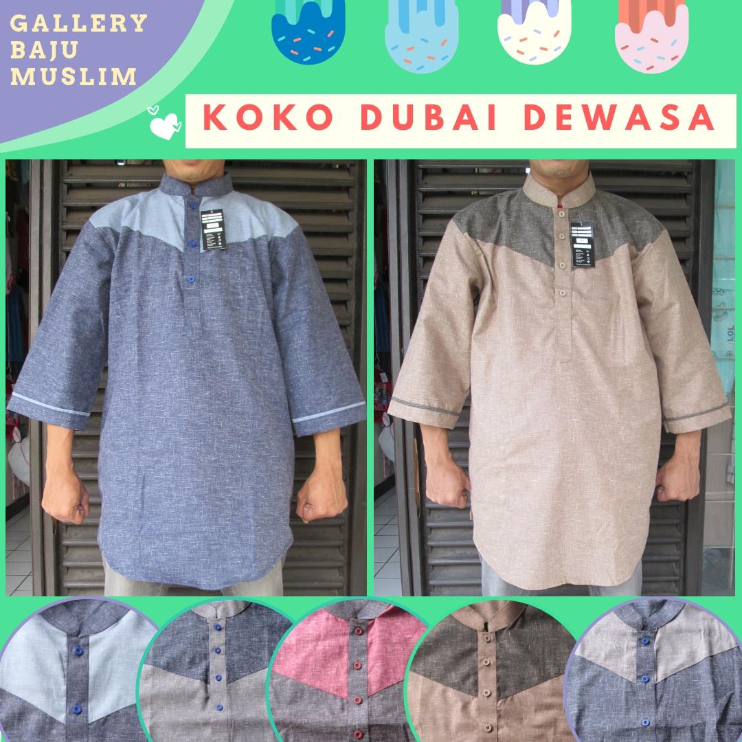 Grosiran Baju Koko Dubai Dewasa Termurah di Bandung