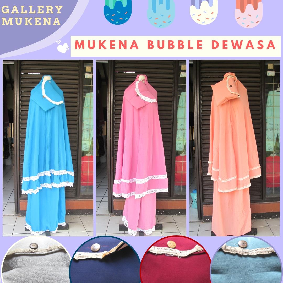 Produsen Mukena Bubble Krep Murah di Bandung