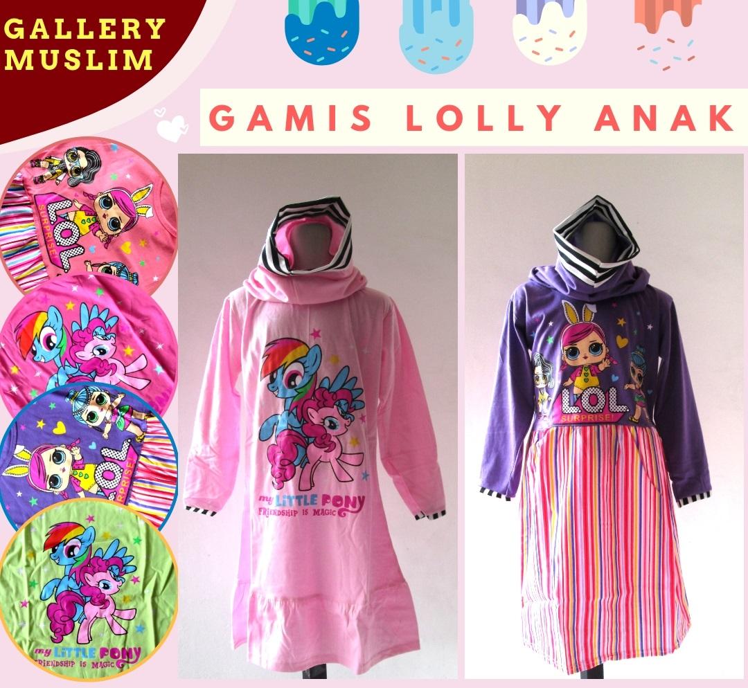 Reseller Gamis Lolly Anak Perempuan Murah di Bandung