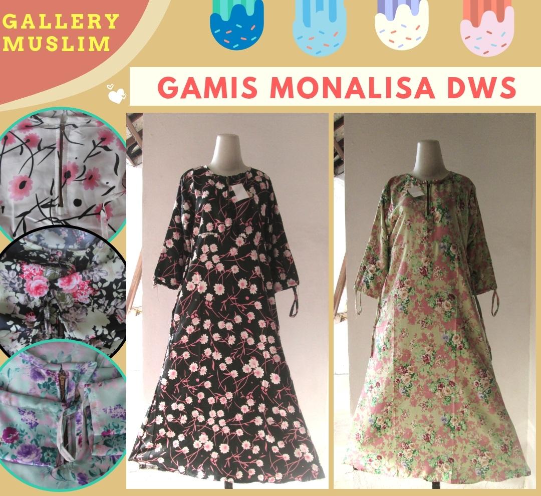 Supplier Gamis Monalisa Dewasa Murah di Bandung