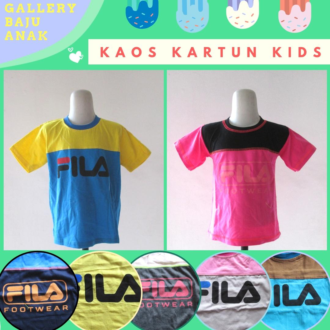 Supplier Kaos Kartun Kids Terbaru Murah di Bandung