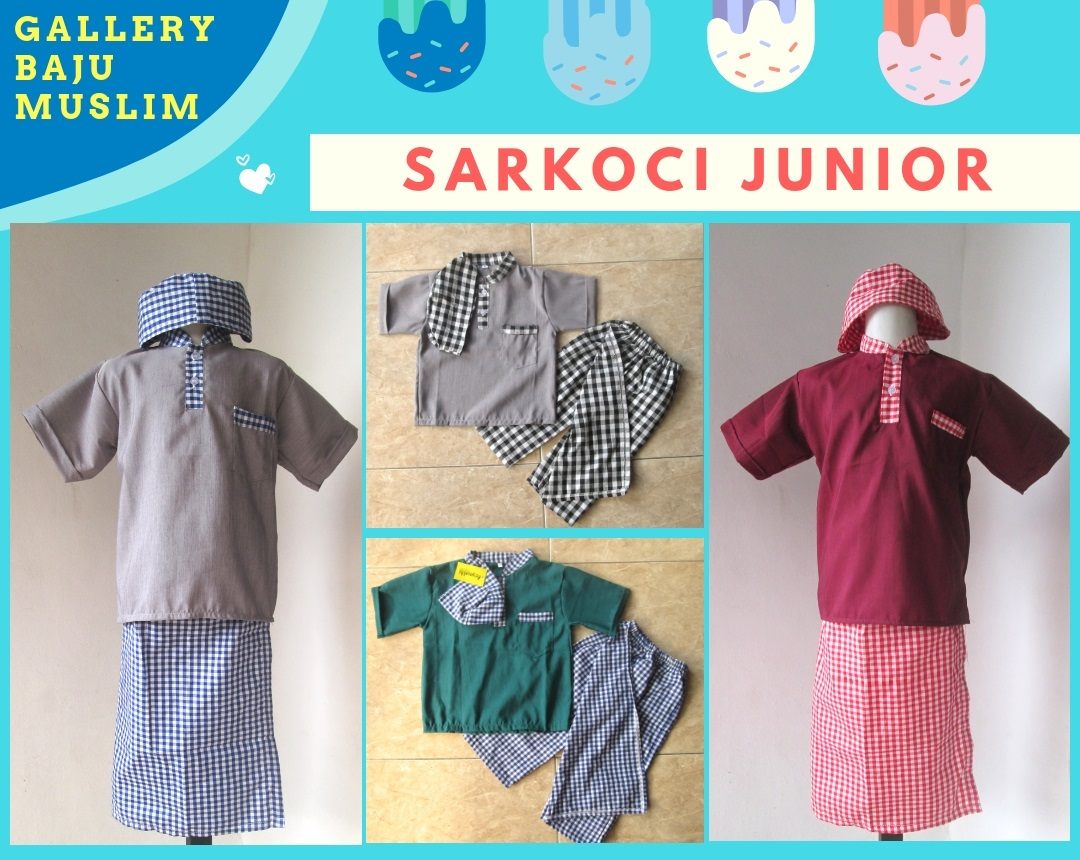 Distributor Sarkoci Junior Anak Laki Laki Murah Bandung