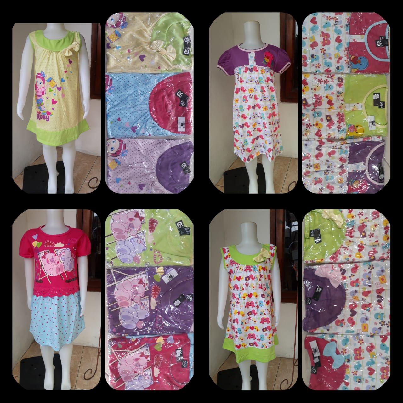Supplier Dress V3 Anak Perempuan Murah di Bandung