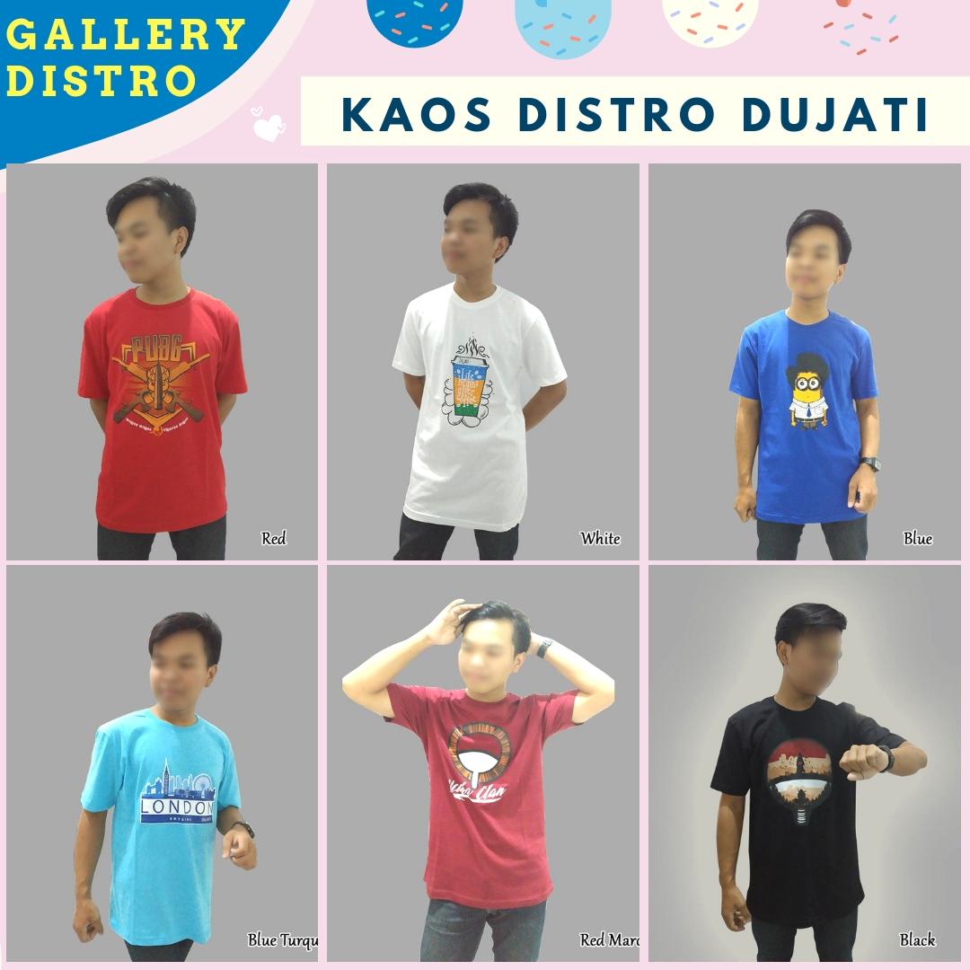 Distributor Kaos Distri Dujati Dewasa Murah di Bandung
