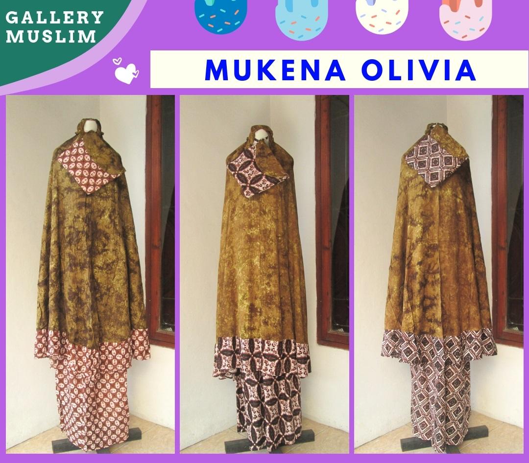 Konveksi Mukena Olivia Dewasa terbaru Murah di Bandung