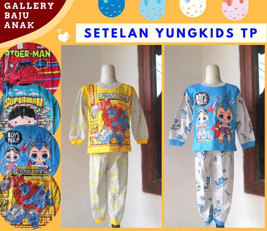 Produsen Setelan yungkids Anak Laki Laki Murah di Bandung