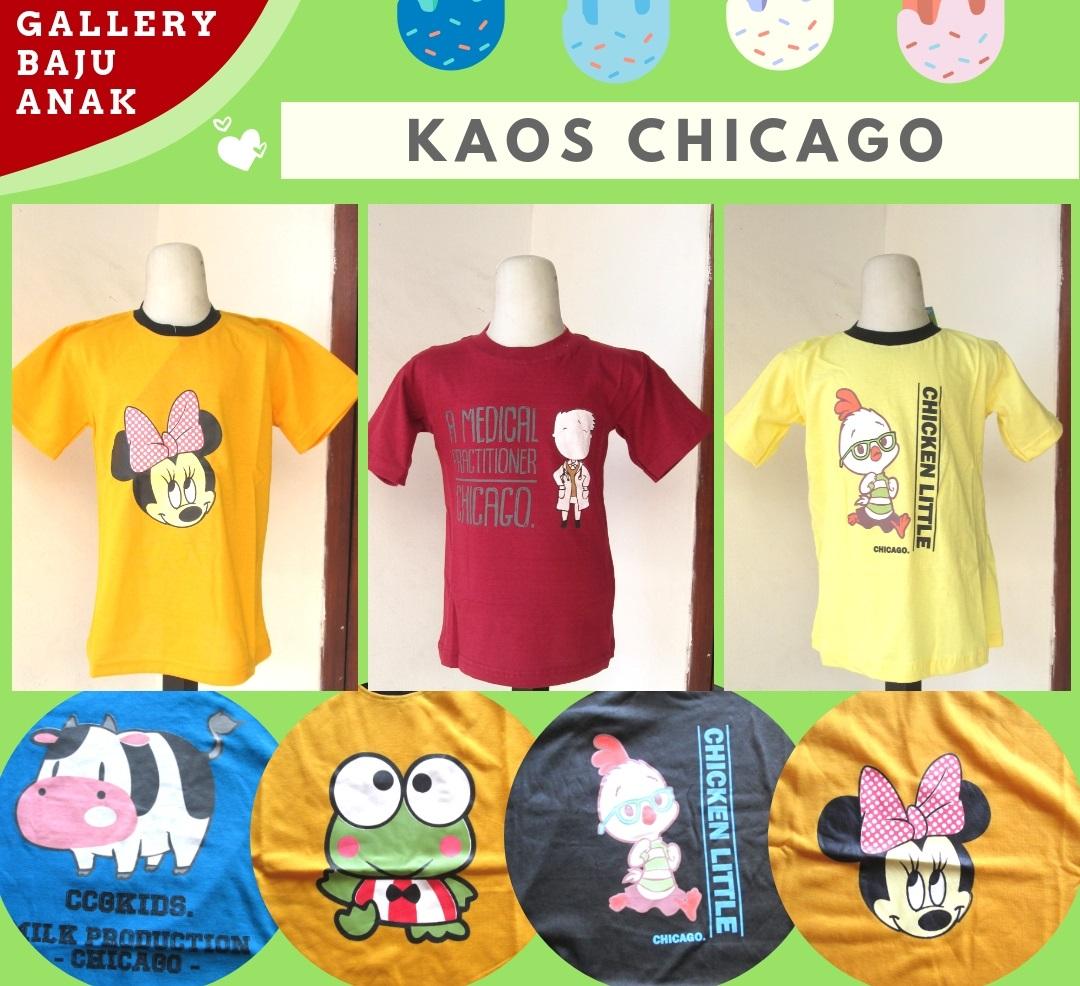 Pusat Grosir Kaos Chicago Anak Karakter Murah di Bandung