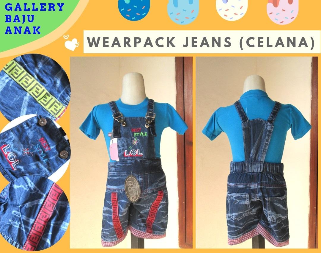 Konveksi Wearpack Jeans Anak Terbaru Murah di Bandung