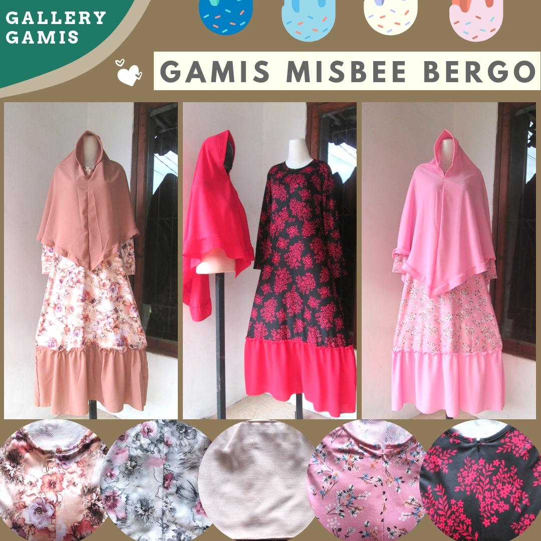 Distributor Gamis Misbee Bergo Dewasa termurah di Bandung