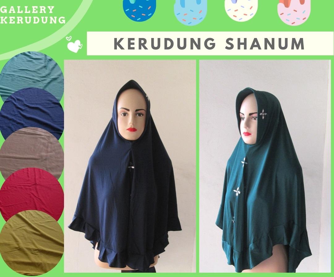 Supplier kerudung Shanum Dewasa Murah di Bandung