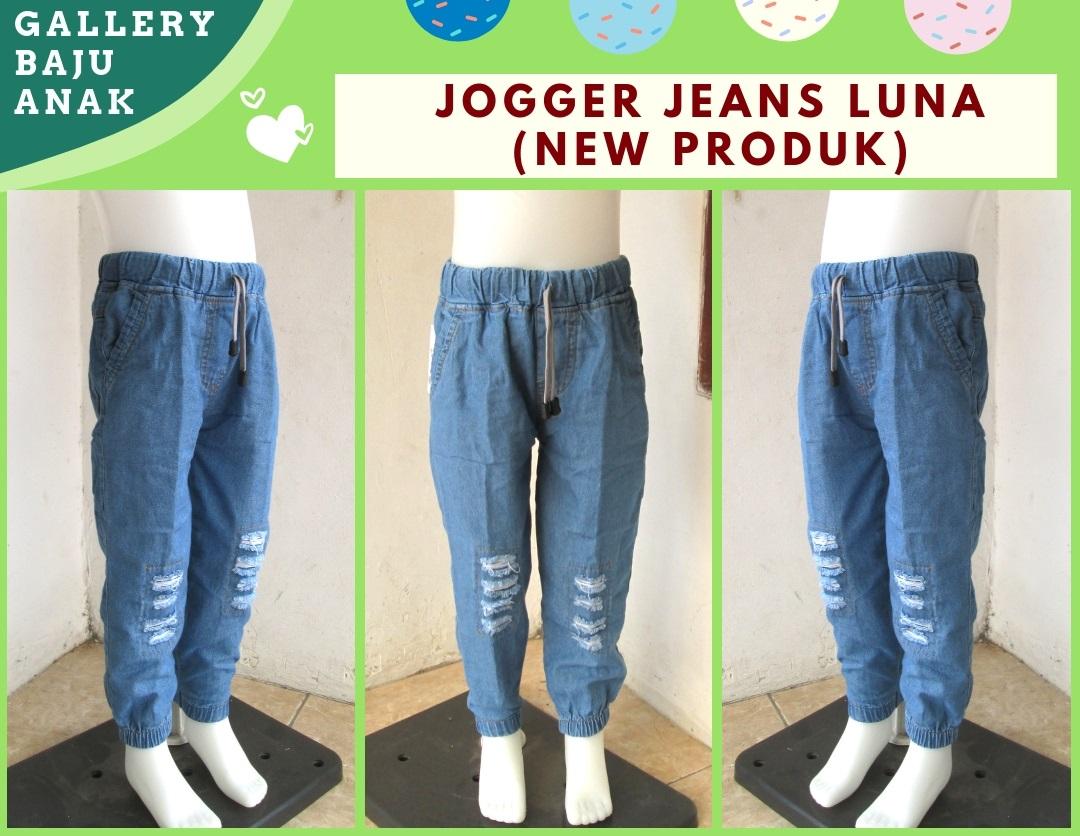 Distributor Jogger jeans Luna Anak Tanggung Murah di Bandung