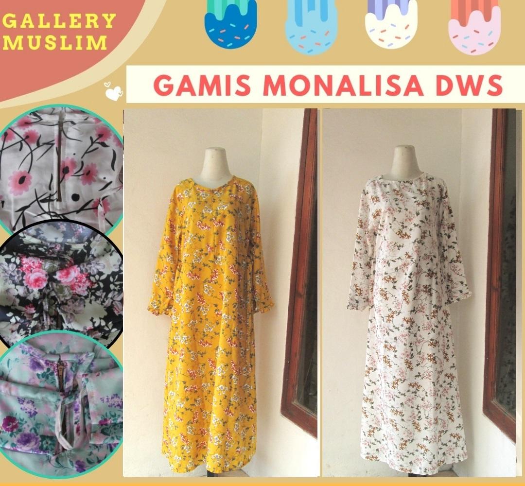 Produsen Gamis Monalisa Wamita Dewasa Murah di Bandung