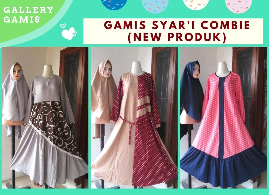 Supplier Gamis Syari Combinasi Termurah di Bandung