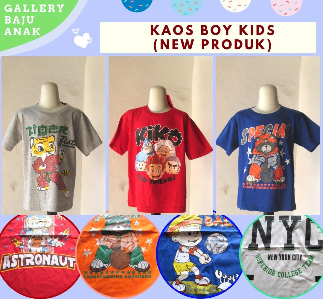 Supplier Kaos Boy Kids Karakter Anak Laki Laki