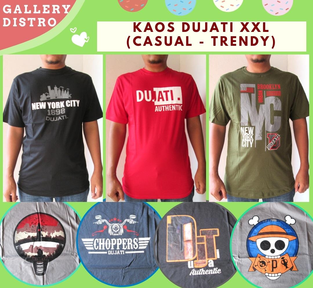 Distributor Kaos Distro Dujati XXL Dewasa Murah di Bandung