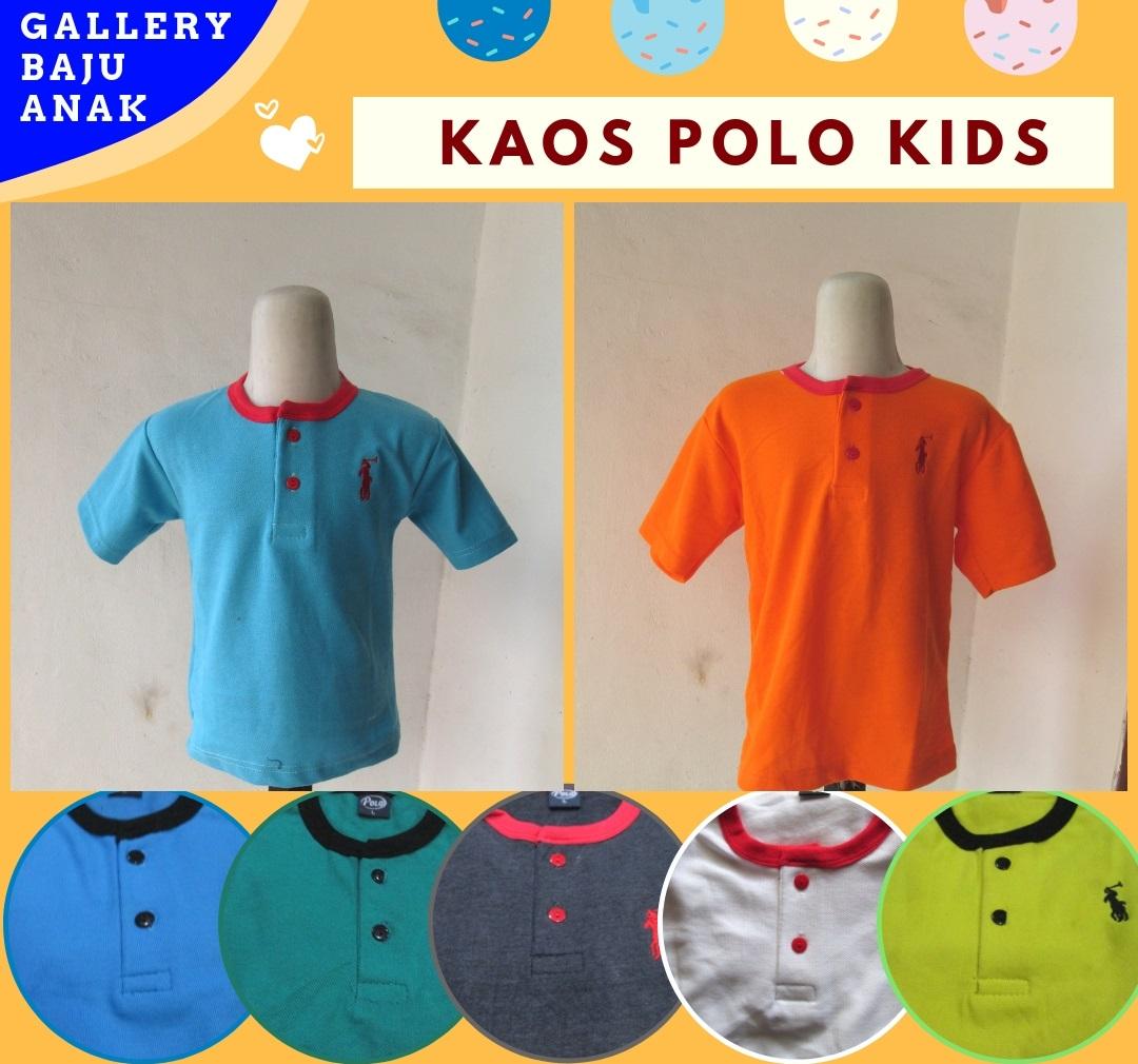 Produsen Kaos Polo Kids Termurah di Bandung