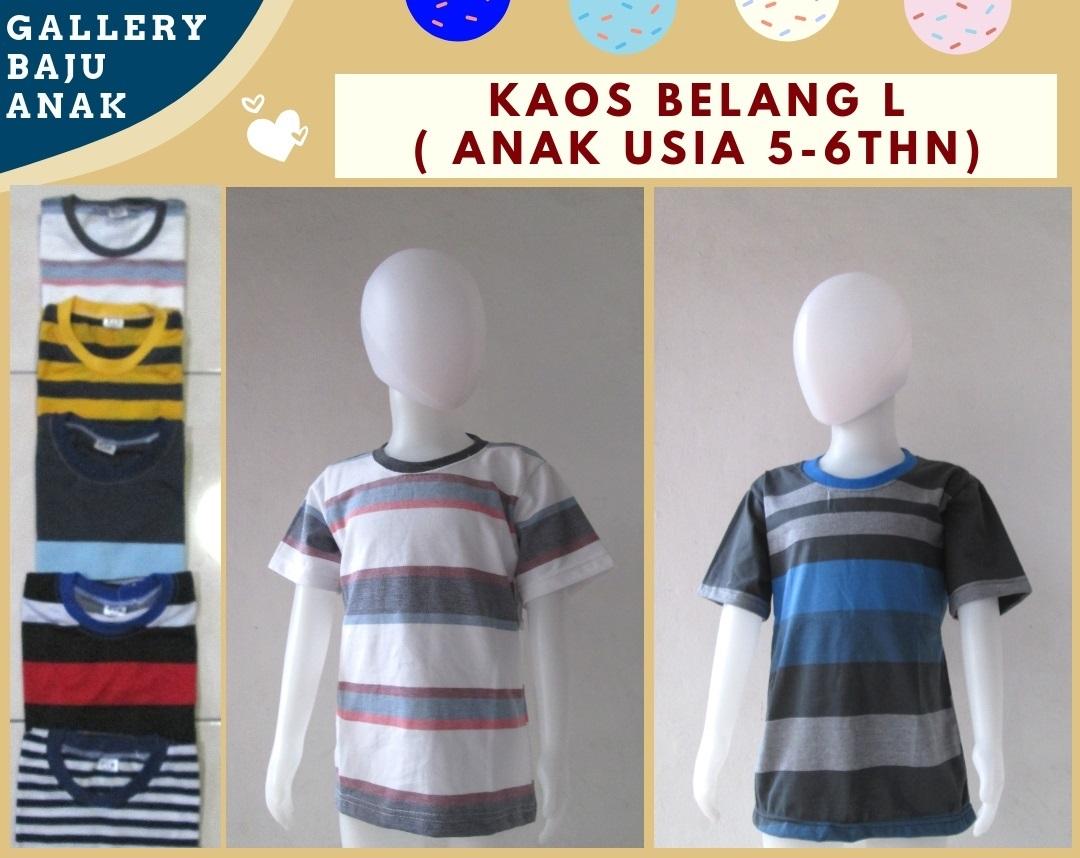 Supplier Kaos  Salur L Anak Murah di Bandung