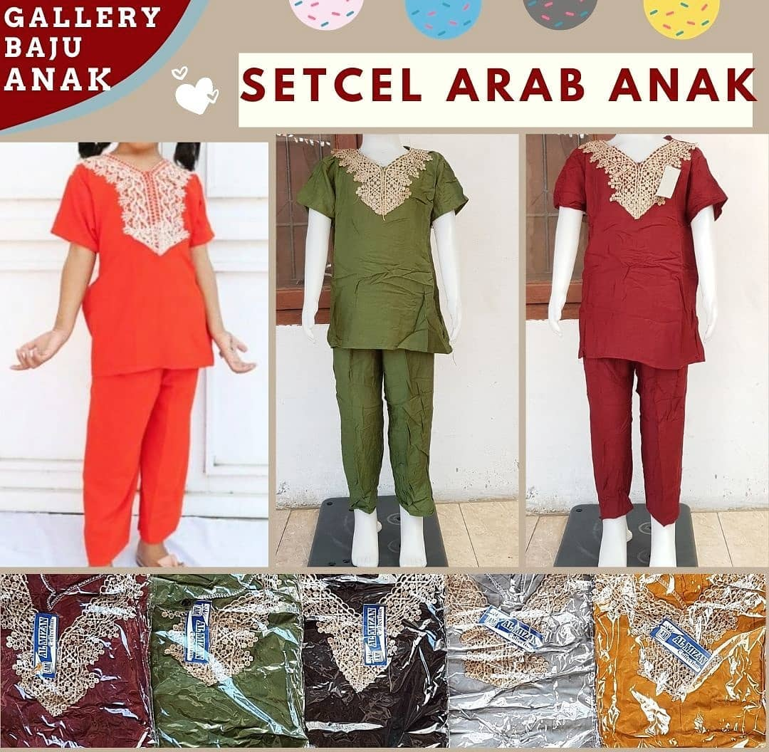 Setcel Arab Anak