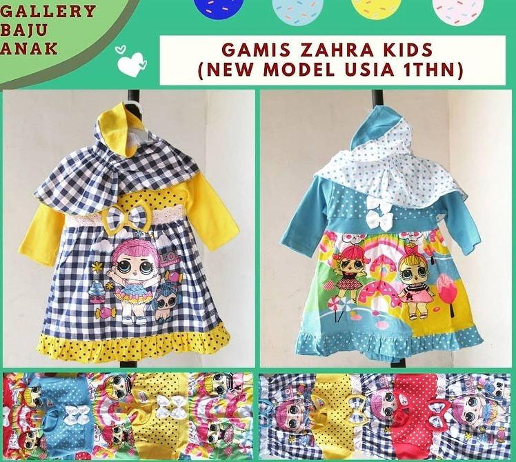 Gamis Zahra Kids
