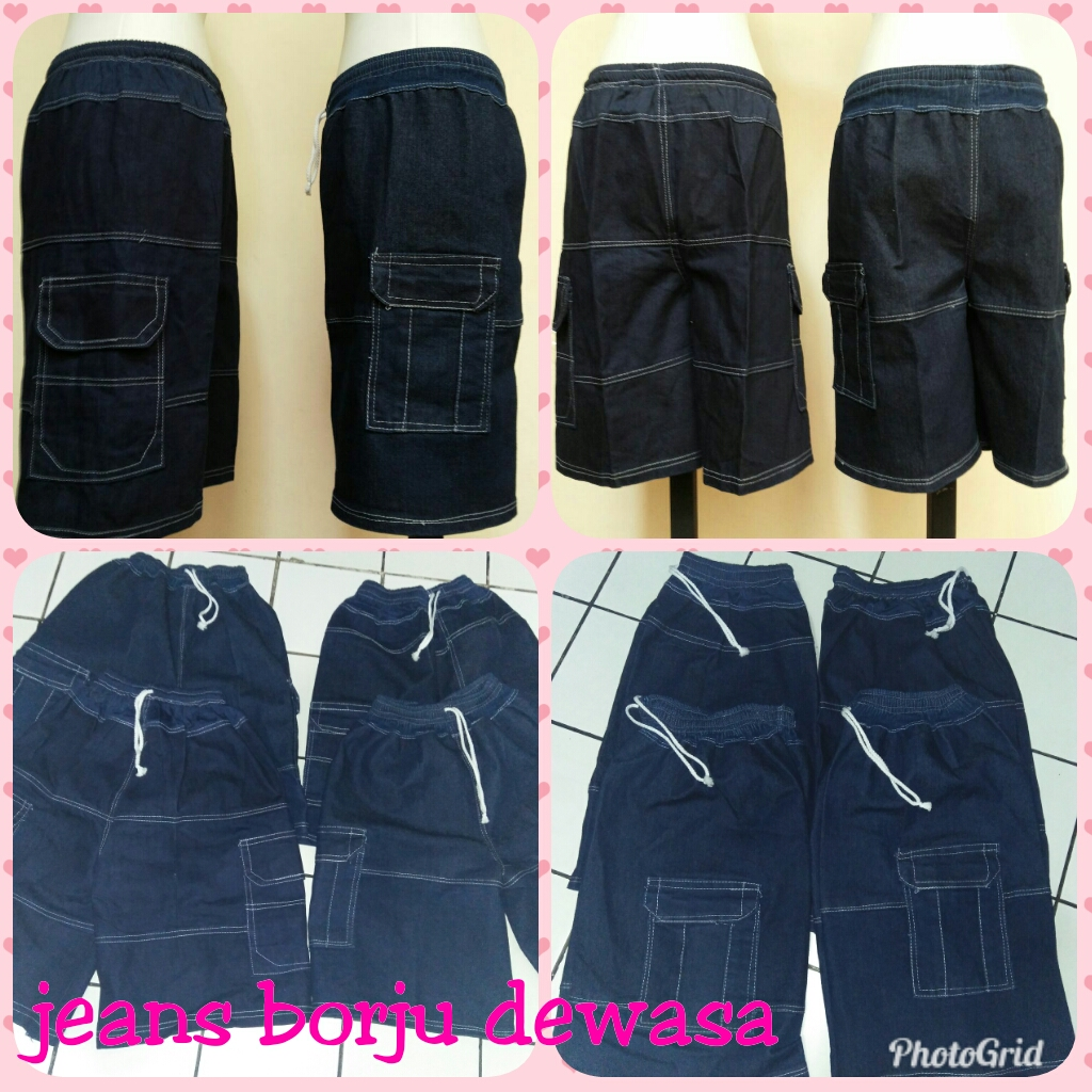 Sentra Grosir Celana Jeans Borju Dewasa Murah Bandung 20Ribu