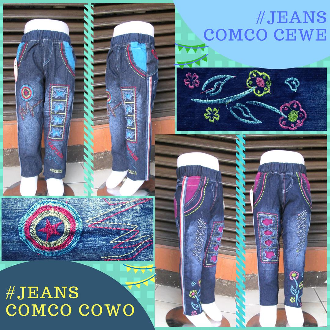 Distributor Celana Jeans Comco Anak Murah Bandung 35Ribu