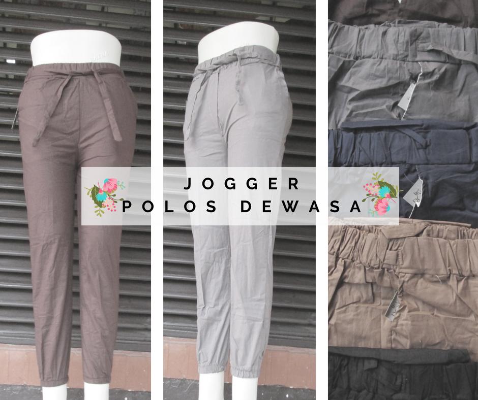 Produsen Celana Jogger Polos Dewasa Murah Bandung Rp.24.500