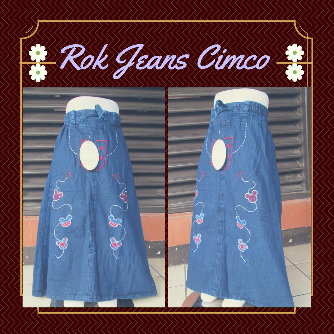 Distributor Jeans Cimco Anak Perempuan Murah 34Ribuan