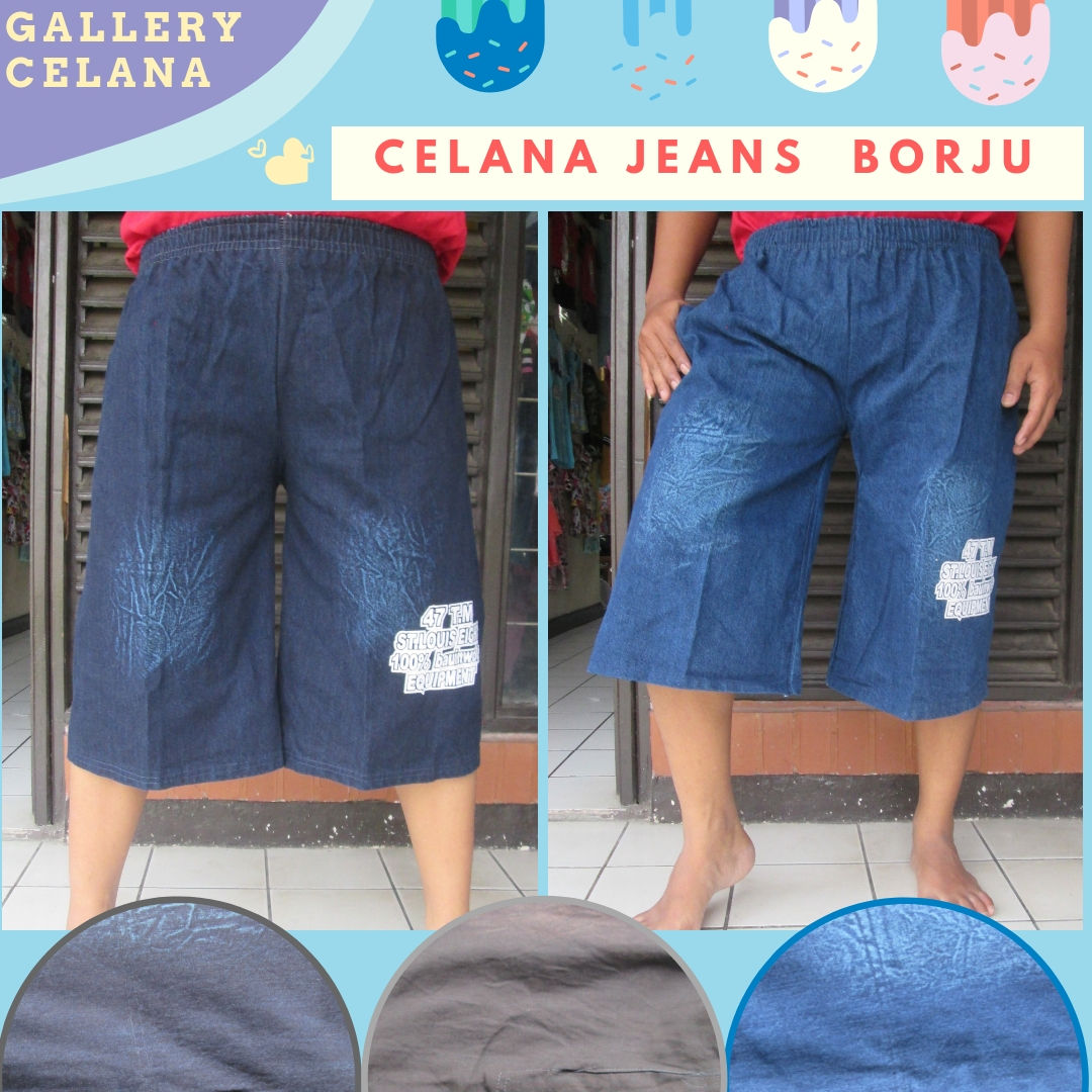 Pusat Grosir Celana Jeans Borju Dewasa Termurah di Bandung 22Ribu