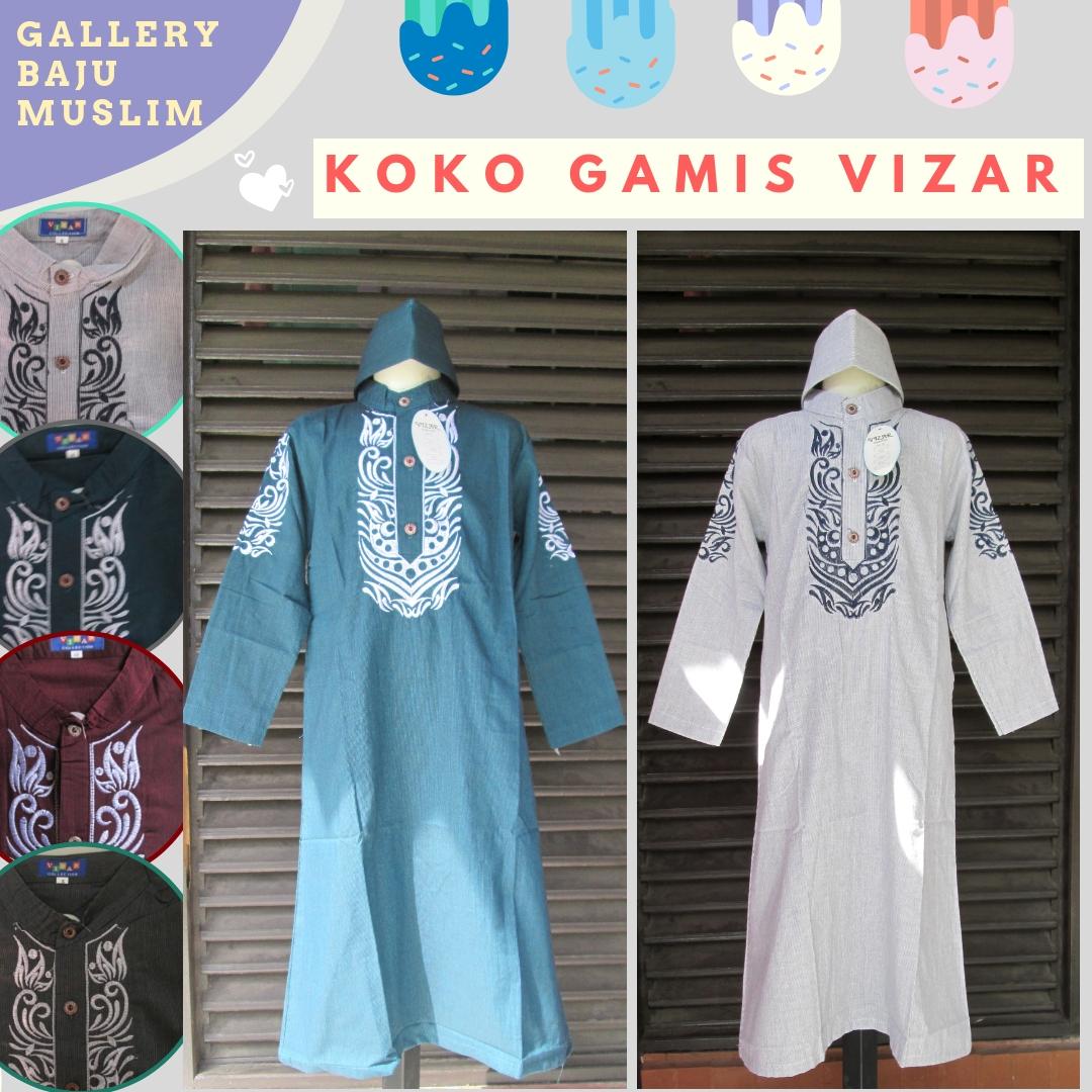 Distributor Baju Koko Gamis Vizar Anak Laki Laki Murah di Bandung Rp.59.500