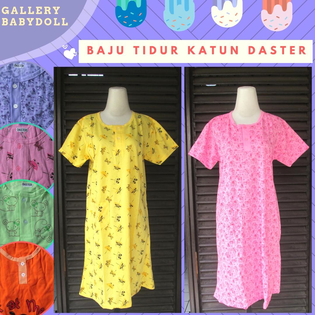 Supplier Baju Tidur Katun Daster Dewasa Murah di Bandung 24Ribu