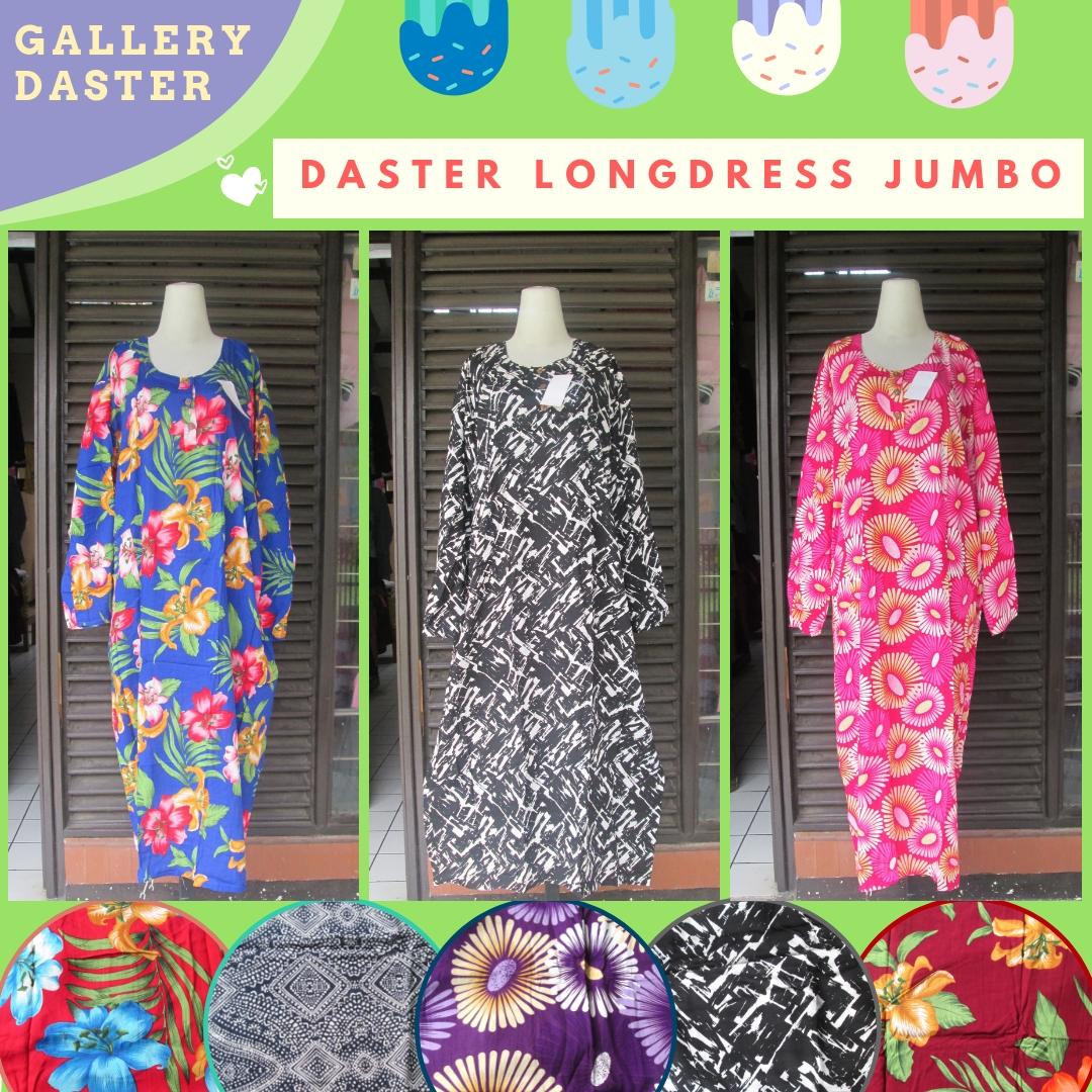 Supplier Daster Longdress Jumbo Dewasa Termurah di Bandung Rp.37.500