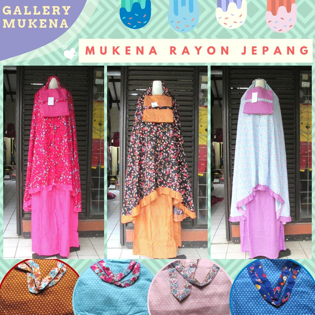 Pabrik Mukena Rayon Jepang Dewasa Murah di Bandung 74Ribuan