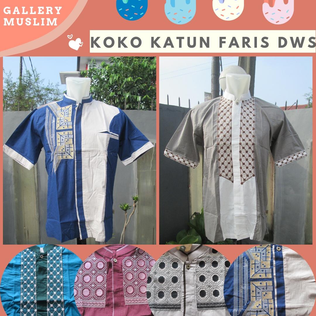 Pusat Grosir Baju Koko Katun Faris Dewasa Termurah di Bandung 52RIBUAN