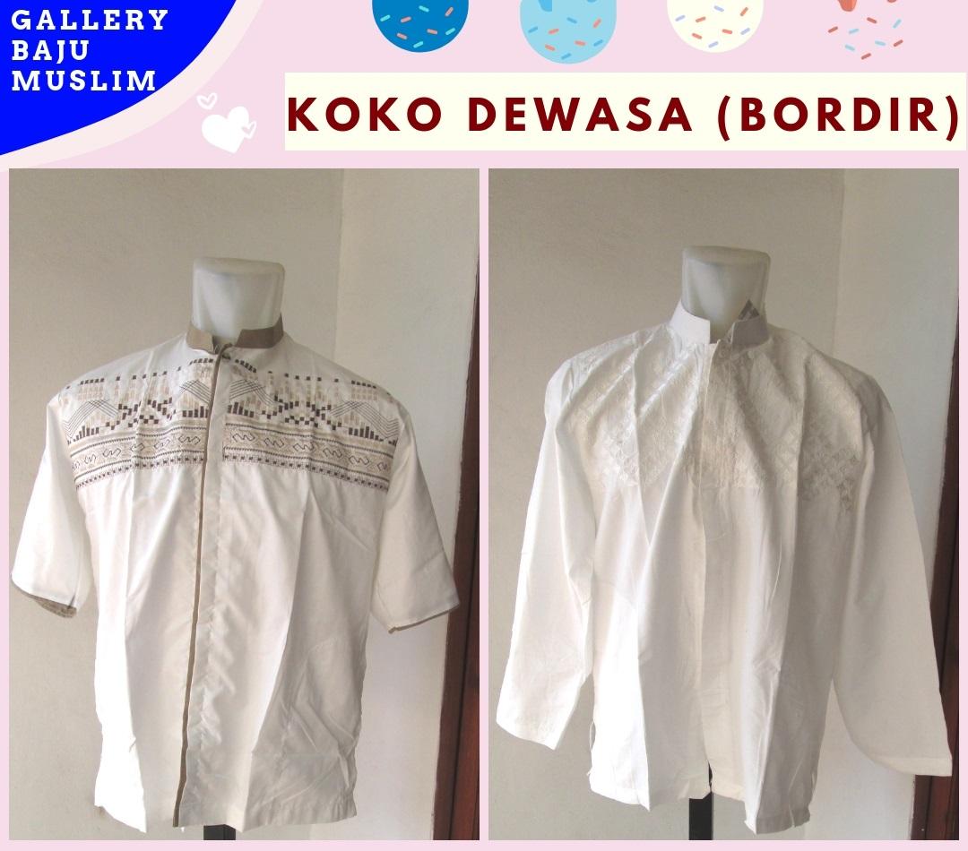 Grosiran Baju Koko Bordir Laki Laki Dewasa Termurah di Bandung 36RIBUAN