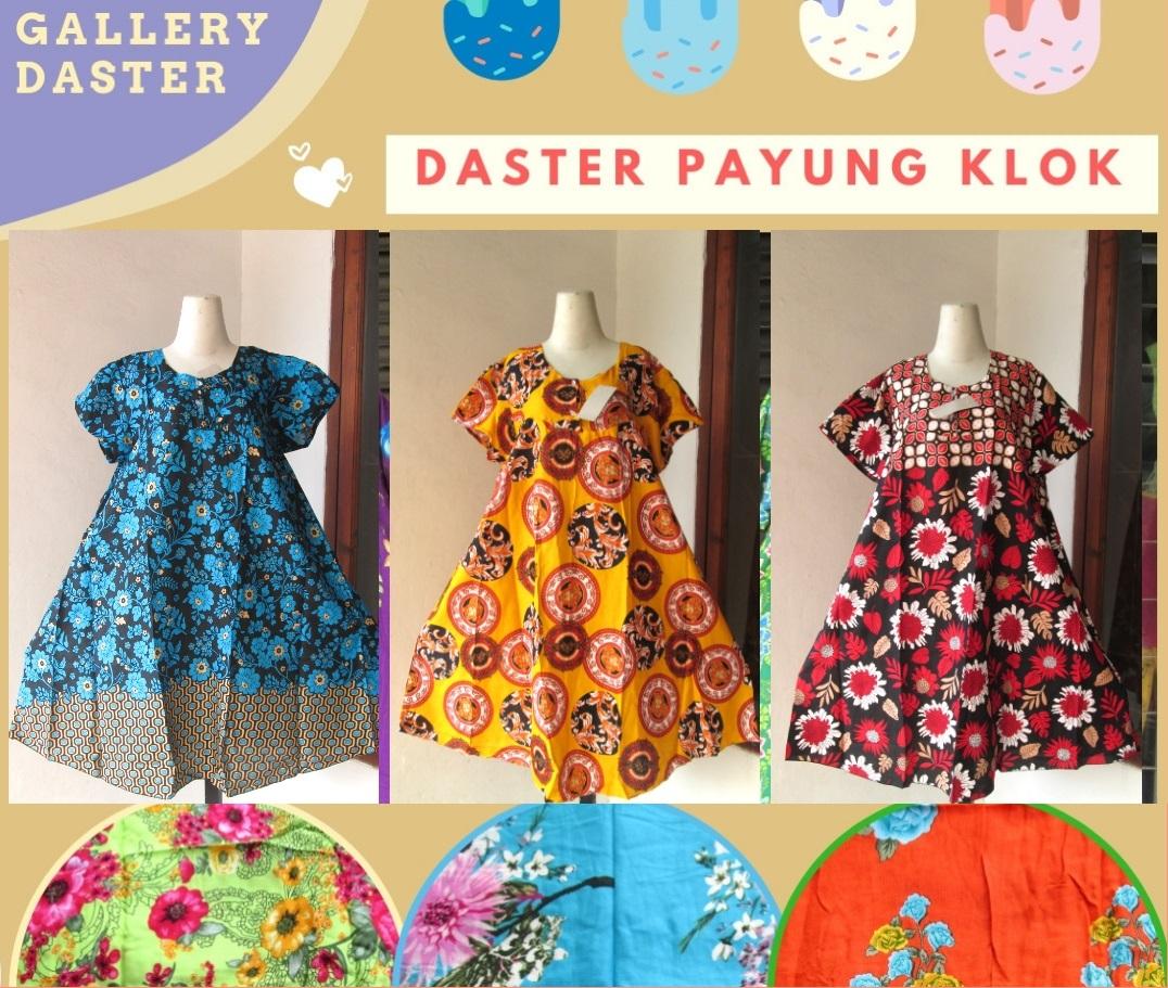 Supplier Daster Payung Klok Wanita Dewasa Termurah di Bandung hanya 34RIBUAN