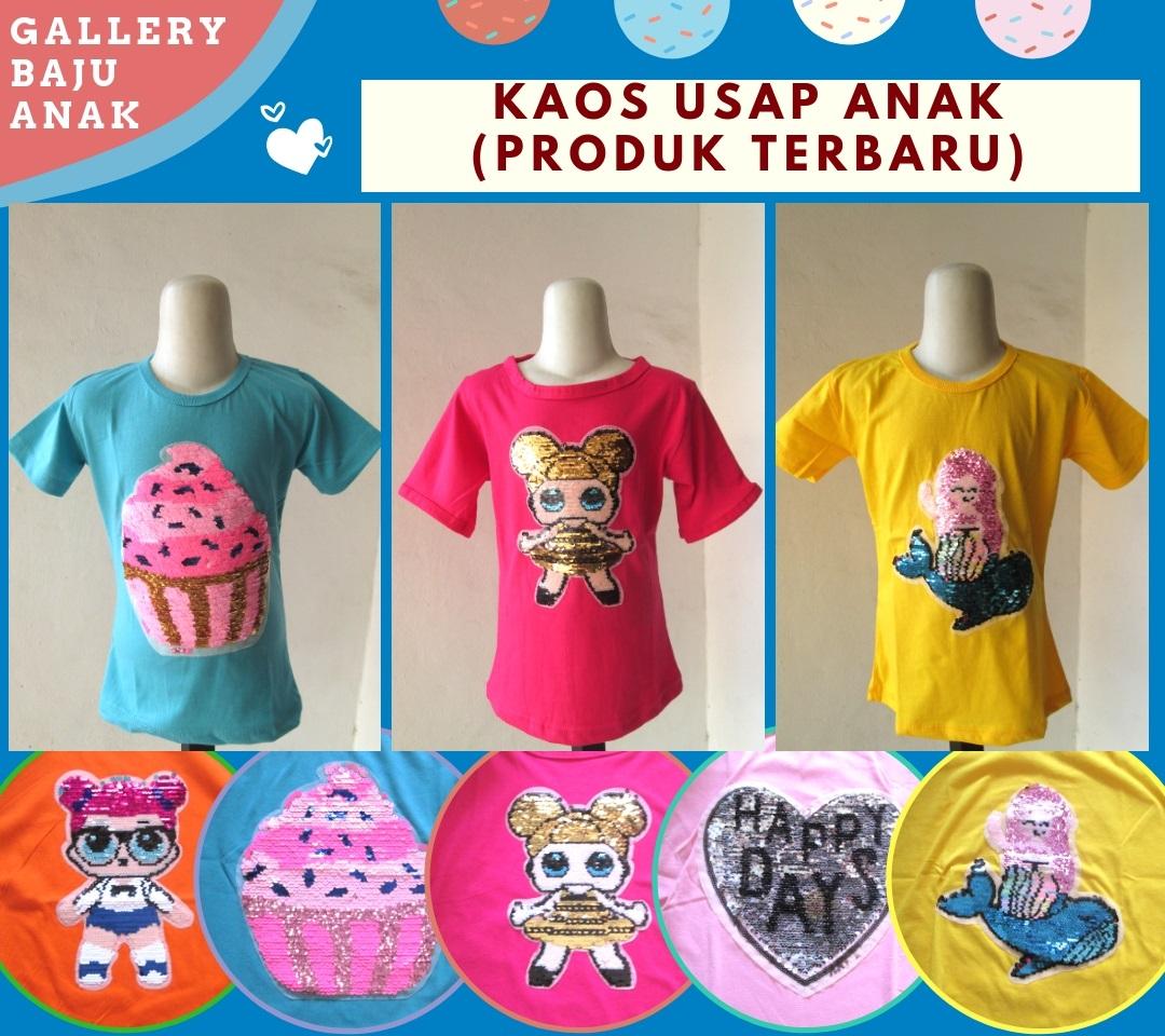 Reseller Kaos Usap Anak Karakter Perempuan Bisa Berubah Warna Murah di Bandung 28RIBUAN