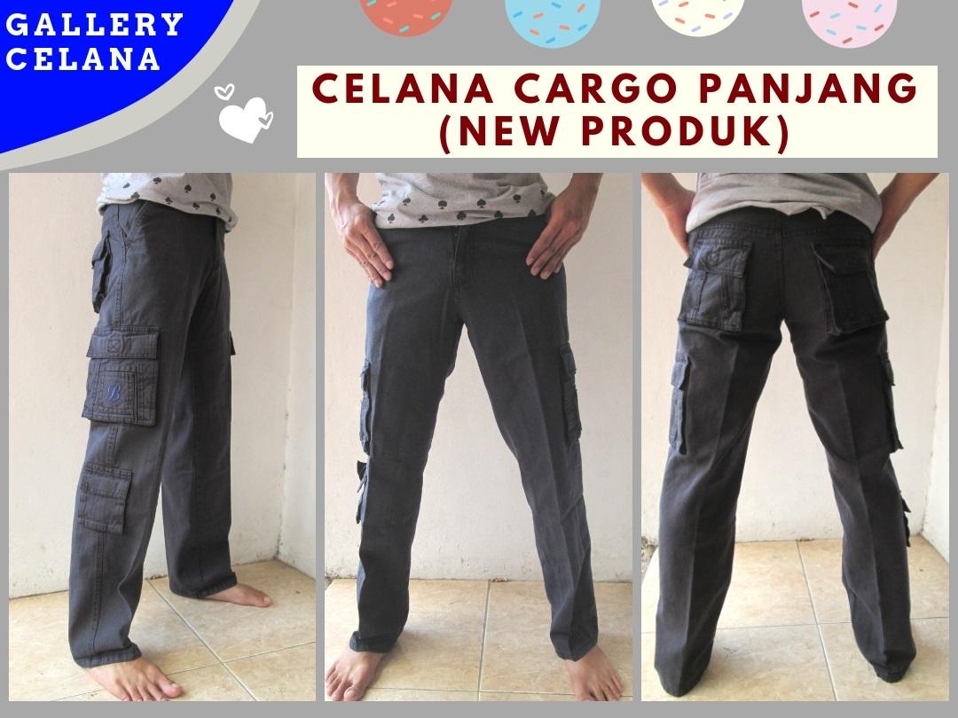 Distributor Celana Cargo Panjang Pria Dewasa Termurah di Bandung Hanya 64RIBUAN